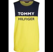 Tommy Hilfiger Tanktop Navy/Geel (UM0UM01751 - ZGT)