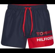 Tommy Hilfiger Zwemshort Runner Navy (UM0UM01683 - CUN)