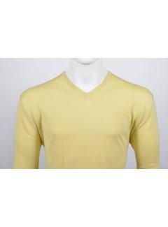 Culture Pullover V-Hals Licht Geel (215300 - 62)