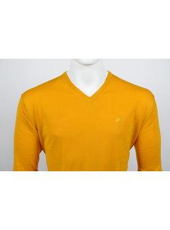 Culture Pullover V-Hals Oker Geel (215300 - 64)