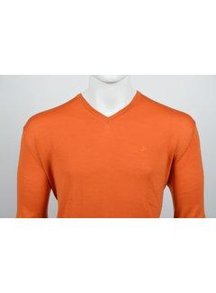 Culture Pullover V-Hals Oranje (215300 - 95)