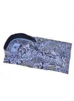 Culture Overhemd Modern Fit Print Blauw (215168 - 32)