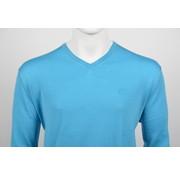 Culture Pullover V-Hals Blauw (215300 - 21)