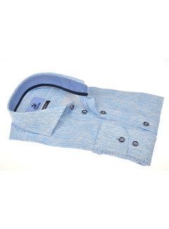 Culture Overhemd Print Blauw (215302 - 32)