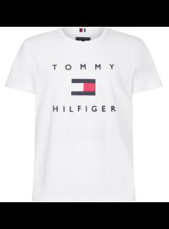 Tommy Hilfiger T-shirt Wit (MW0MW14313 - YBR)