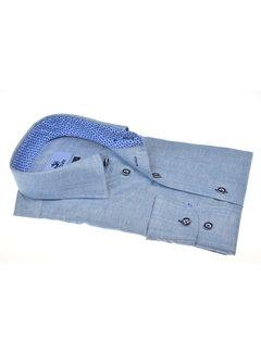 Culture Overhemd Gemêleerd Blauw (215312 - 34)