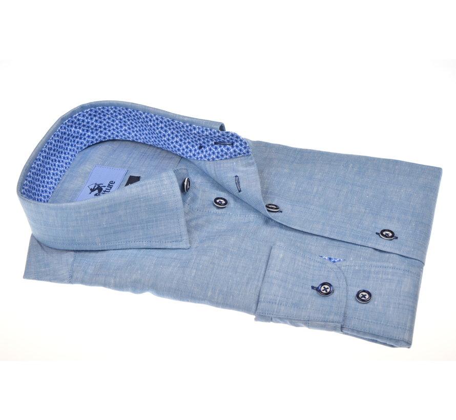 Overhemd Gemêleerd Blauw (215312 - 34)