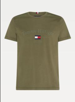 Tommy Hilfiger T-shirt Groen (MW0MW15320 - MSH)