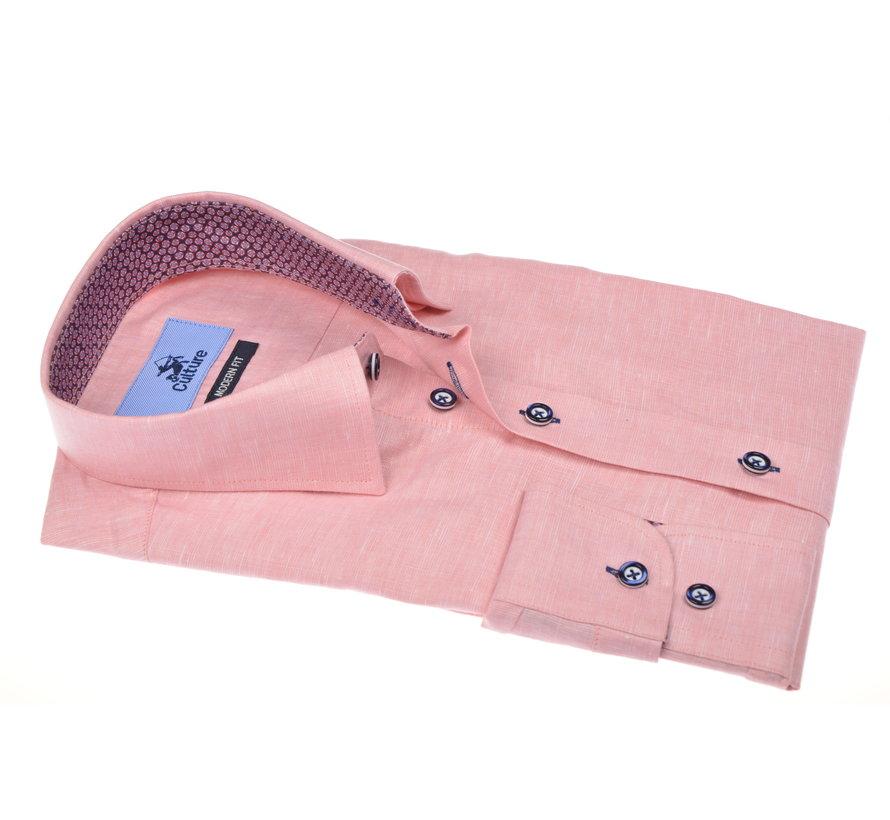 Overhemd Gemêleerd Roze (215312 - 83)