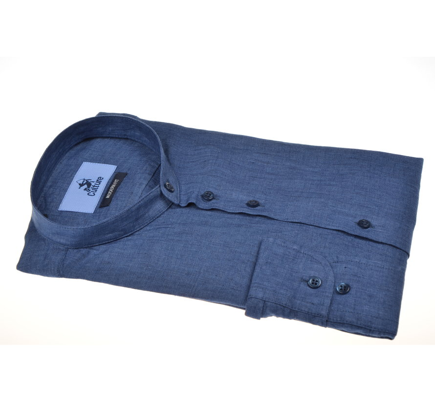 Overhemd Navy Blauw (215318 - 37)