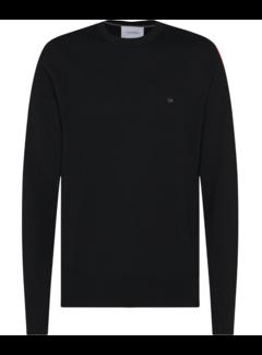 Calvin Klein Pullover Merino Zwart (K10K102727 - BEH)
