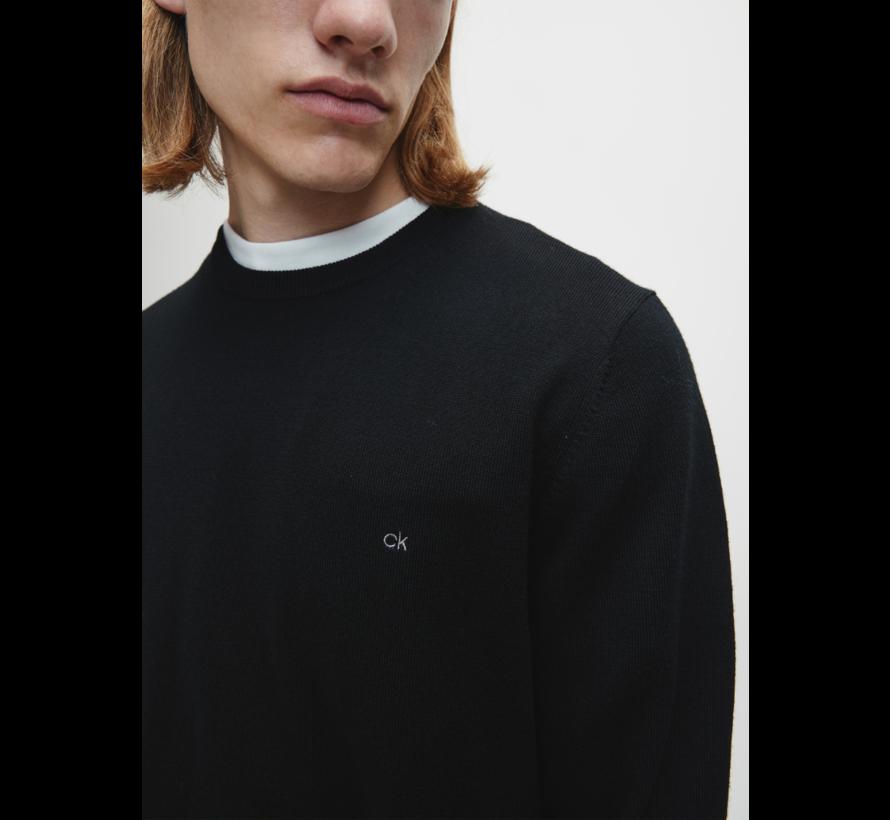 Pullover Merino Zwart (K10K102727 - BEH)