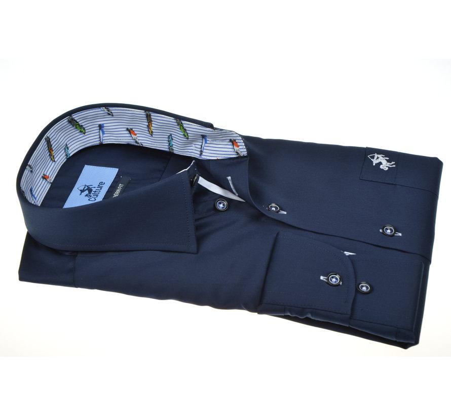 Overhemd Navy Blauw (215324 - 38)