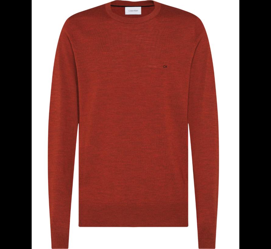 Pullover Merino Roest Bruin (K10K102727 - GPC)