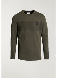 CHASIN' Sweater LOW Army Groen (4111.219.112 - E50)