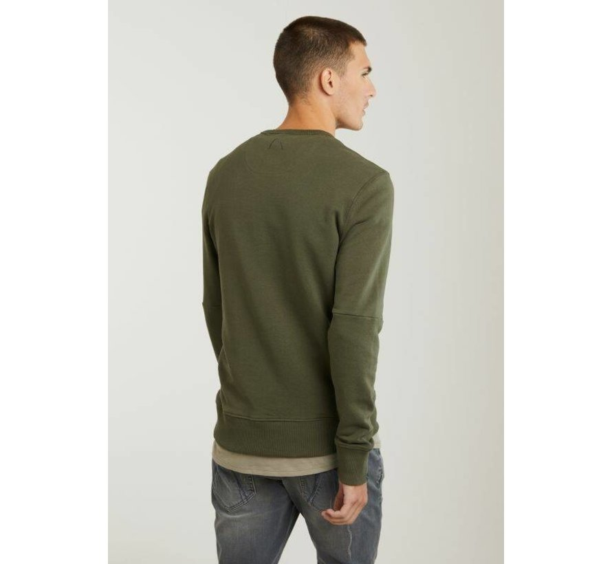 Sweater LOW Army Groen (4111.219.112 - E50)