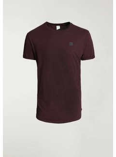 CHASIN' T-shirt Ronde Hals BRODY Burgundy Rood (5211.213.141 - E41)