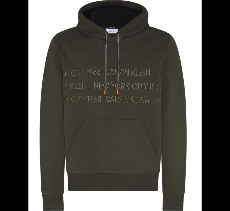 Hooded Sweater Groen (K10K105720 - MRZ)