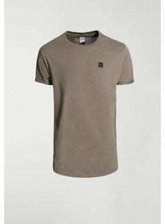 CHASIN' T-shirt Ronde Hals BRODY Groen (5211.213.141 - E52)