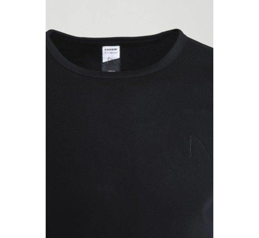 T-shirt Ronde Hals BASE-B Zwart (5211.400.122 - E90)