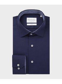 Michaelis Overhemd Oxford Navy (PMRH100055)