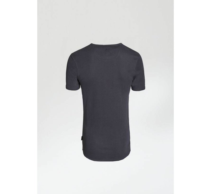 T-shirt Ronde Hals BASE-B Antraciet Grijs (5211.400.122 - E95)