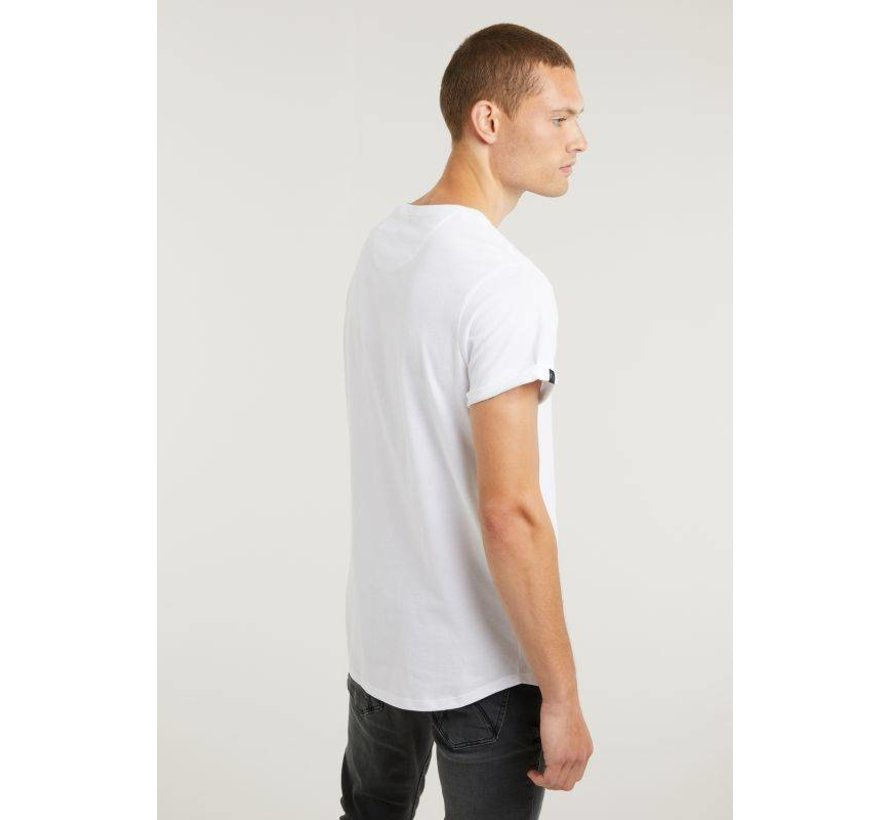 T-shirt Ronde Hals BRODY Wit (5211.400.141 - E10)