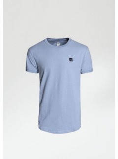 CHASIN' T-shirt Ronde Hals BRODY Licht Blauw (5211.400.141 - E61)
