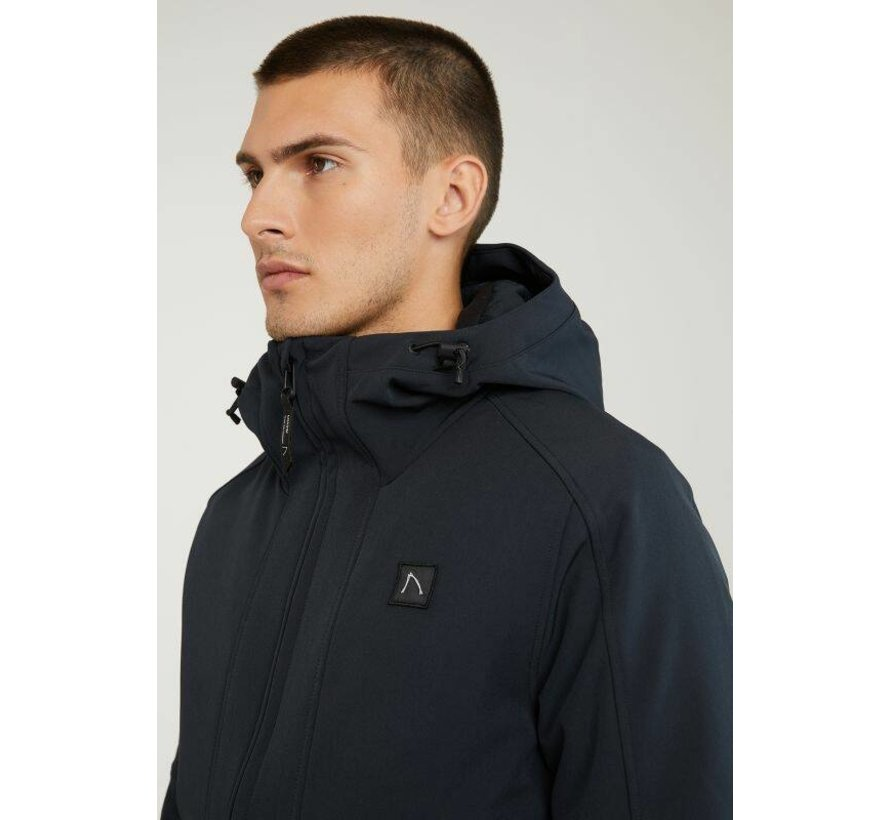 Softshell Jas RETURN SOFTSHELL Donker Blauw (7111.345.002 - E63)