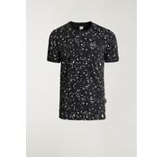 CHASIN' T-shirt Ronde Hals LEO Zwart (5211.400.138 - E90)