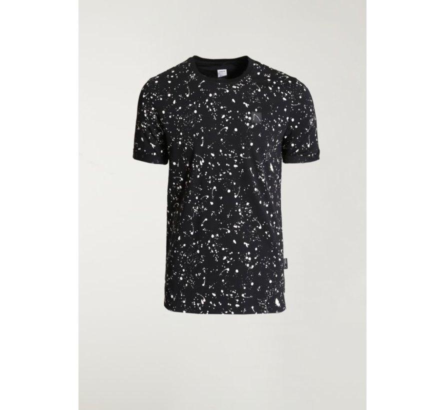 T-shirt Ronde Hals LEO Zwart (5211.400.138 - E90)