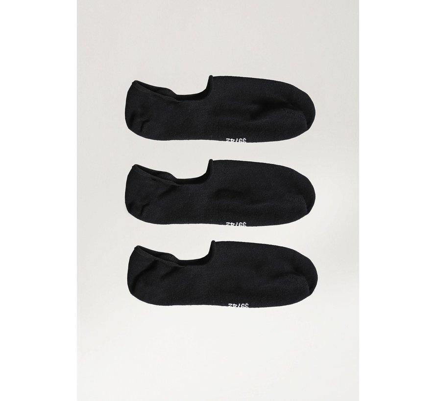 Sokken 3Pack NOSHOW 2.0 Zwart (9S00.336.014 - E90)