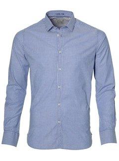 Dstrezzed Overhemd Dress Stripe Blauw (303074 - 60)