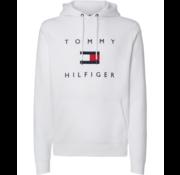 Tommy Hilfiger Hooded Sweater Wit (MW0MW14203 - YBR)