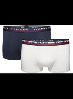 Tommy Hilfiger Boxershort Wit/Navy (UM0UM00949 - 066)