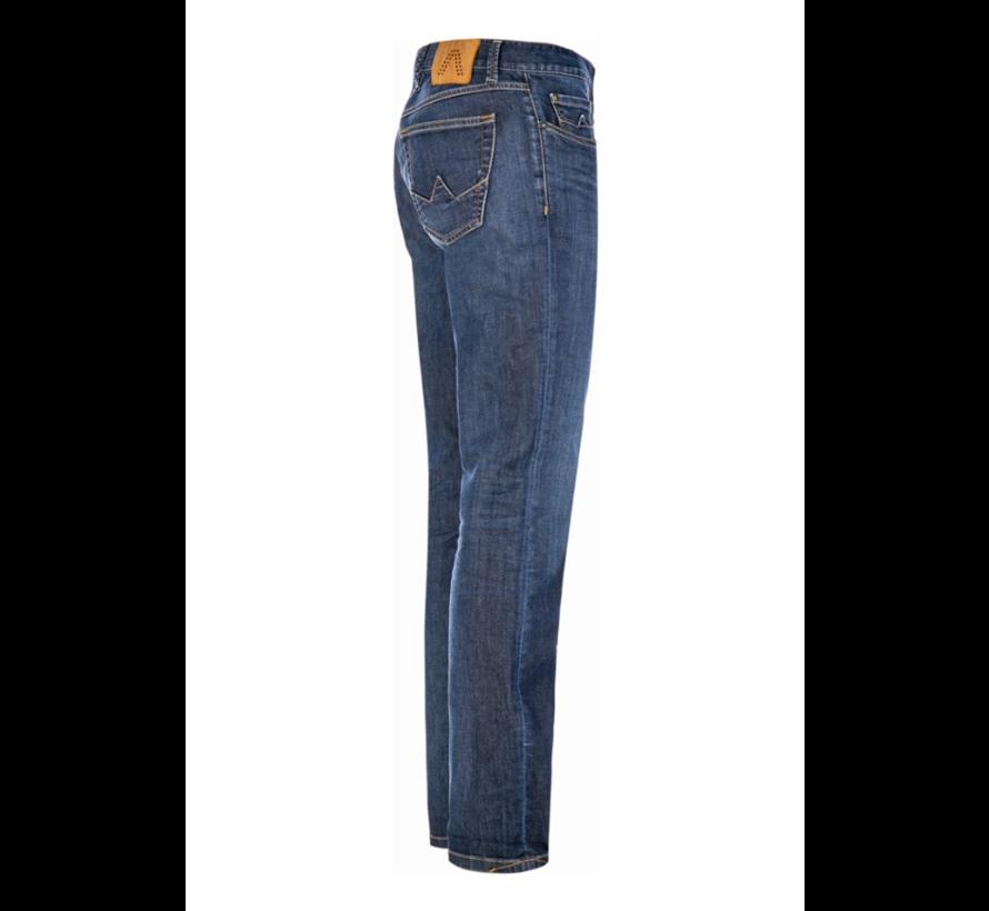 Jeans Slipe Regular Slim Fit Blauw (6837 1970 - 880)