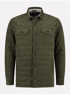 Dstrezzed Overshirt Fleece Army Groen (303347 - 524)