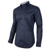 Cavallaro Napoli Overhemd Navino Donker Blauw (110205025 - 699000)