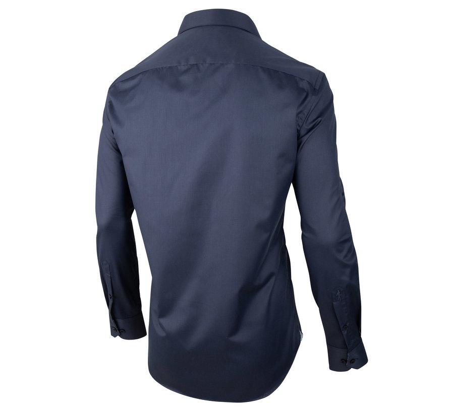 Overhemd Navino Donker Blauw (110205025 - 699000)
