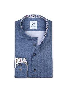 R2 Amsterdam Overhemd Blauw (110.WSP.055 - 014)