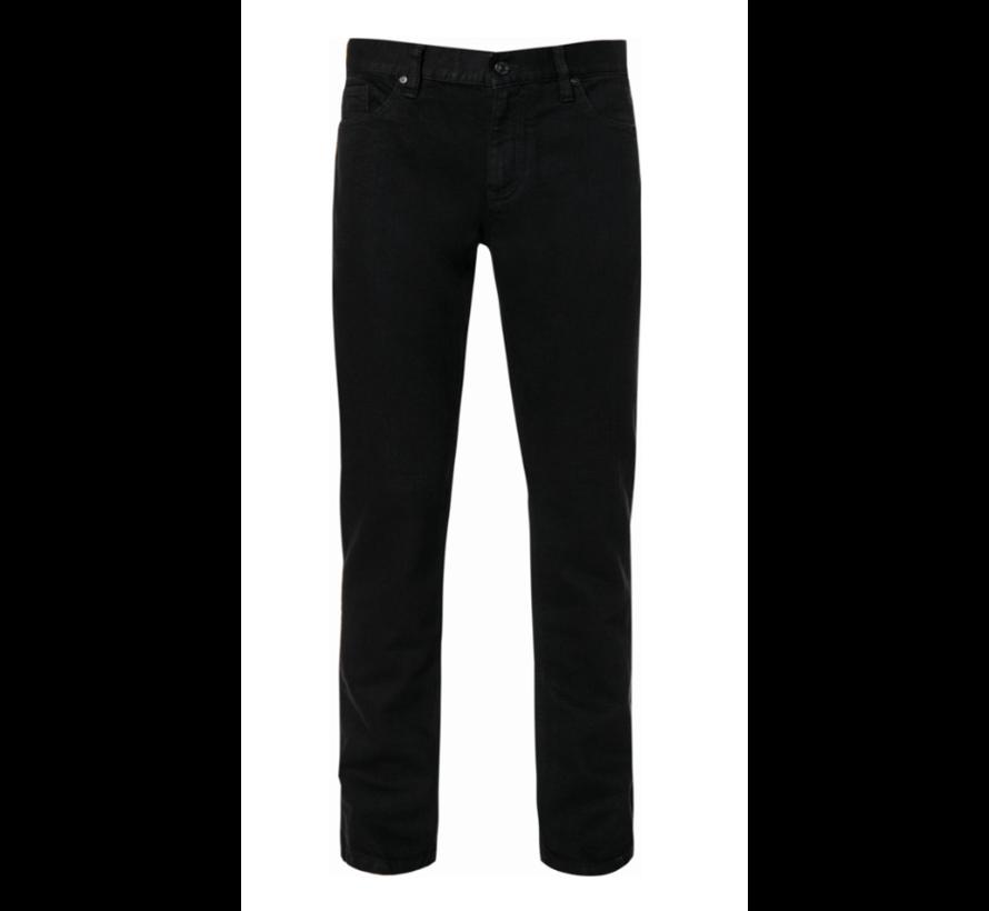 Jeans Pipe Regular Slim Fit T400 Zwart (6017 - 1471 - 999)N