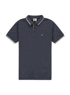 Kultivate Polo Curl Navy Print (2001020404 - 445)