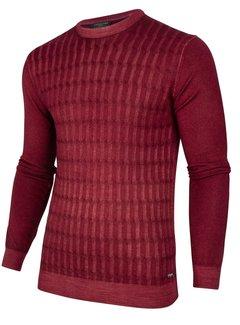 Cavallaro Napoli Pullover Testo Rood (118205009 - 499000)