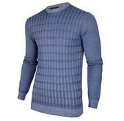 Cavallaro Napoli Pullover Testo Blauw (118205009 - 650000)