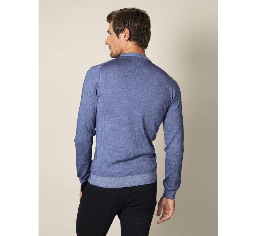 Pullover Testo Blauw (118205009 - 650000)
