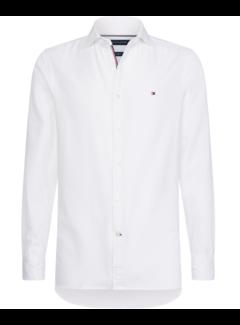 Tommy Hilfiger Overhemd Slim Fit 4 Way Stretch Wit (MW0MW10720 - YAF)