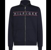 Tommy Hilfiger Vest Logo Zip Trough Navy (MW0MW11565 - CJM)