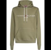 Tommy Hilfiger Hooded Sweater Logo Groen (MW0MW11599 - LDY)