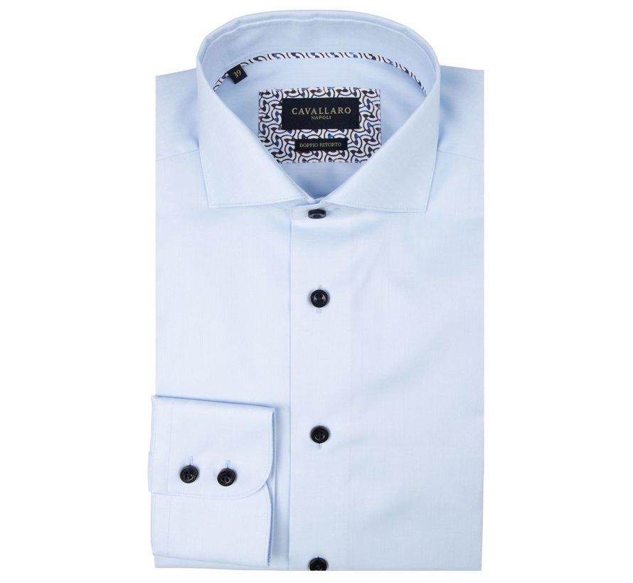 Overhemd Monto Licht Blauw (110205012 - 600000)
