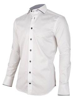 Cavallaro Napoli Overhemd Giovano Optical Wit (110205042 - 100000)